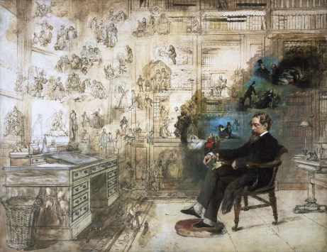 Dickens' Dream, Buss, Painted 1875. Donated by the artist's grandson - 1931.