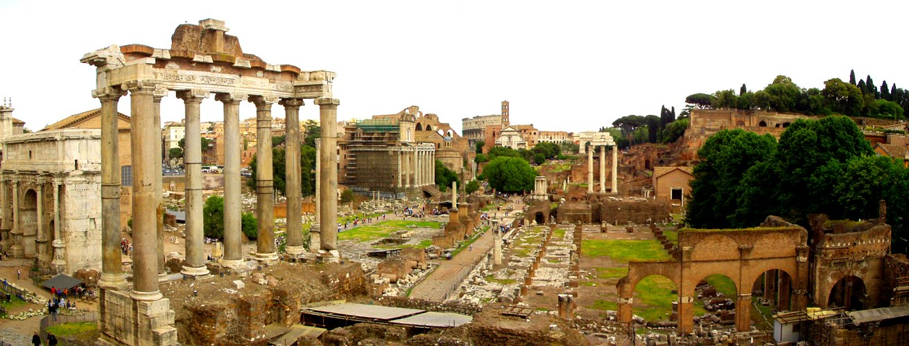 El foro romano en la actualidad