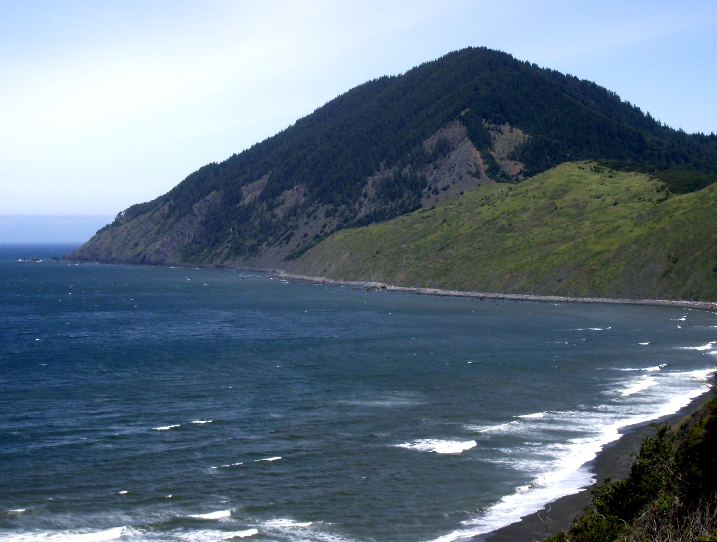 Section 8 of the oregon coast trail begins at the coquille river bridge and continues 40.5 miles to humbug mountain state park. Humbug Mountain State Park Wikipedia
