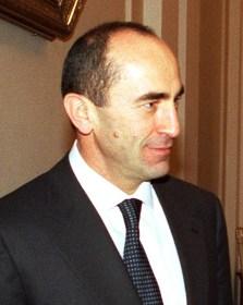 Robert Kocharyan, RA President, Photo from Wikipedia