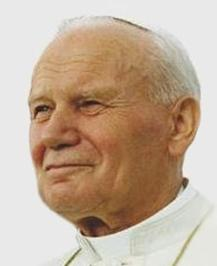 Pope John Paul II on 12 August 1993 in Denver (Colorado)