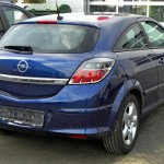 File Opel Astra H Gtc Facelift Rear 1 Jpg Wikimedia Commons