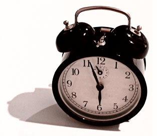alarm clock, bought from IKEA