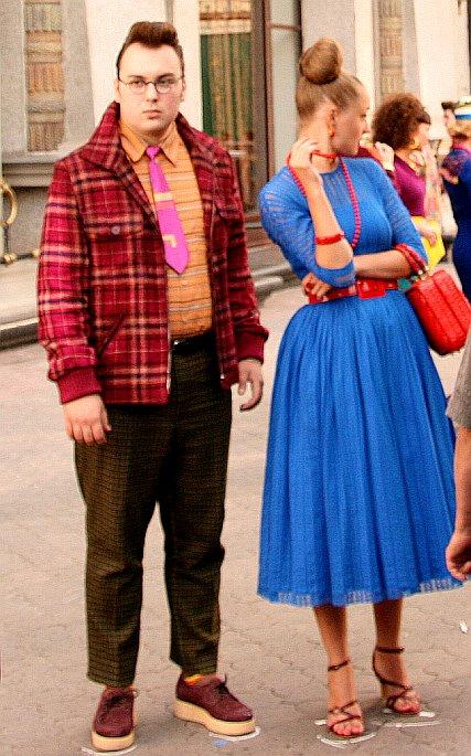 Ekaterina Vilkova and Igor Voynarovsky Hipster Fashion