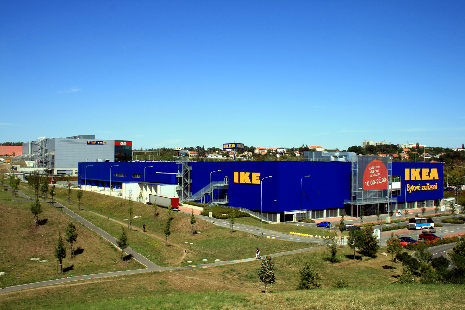 The IKEA store we visited, in Cerny Most, Prague