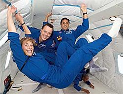 Educator Astronauts Dorothy Metcalf-Lindenberg...
