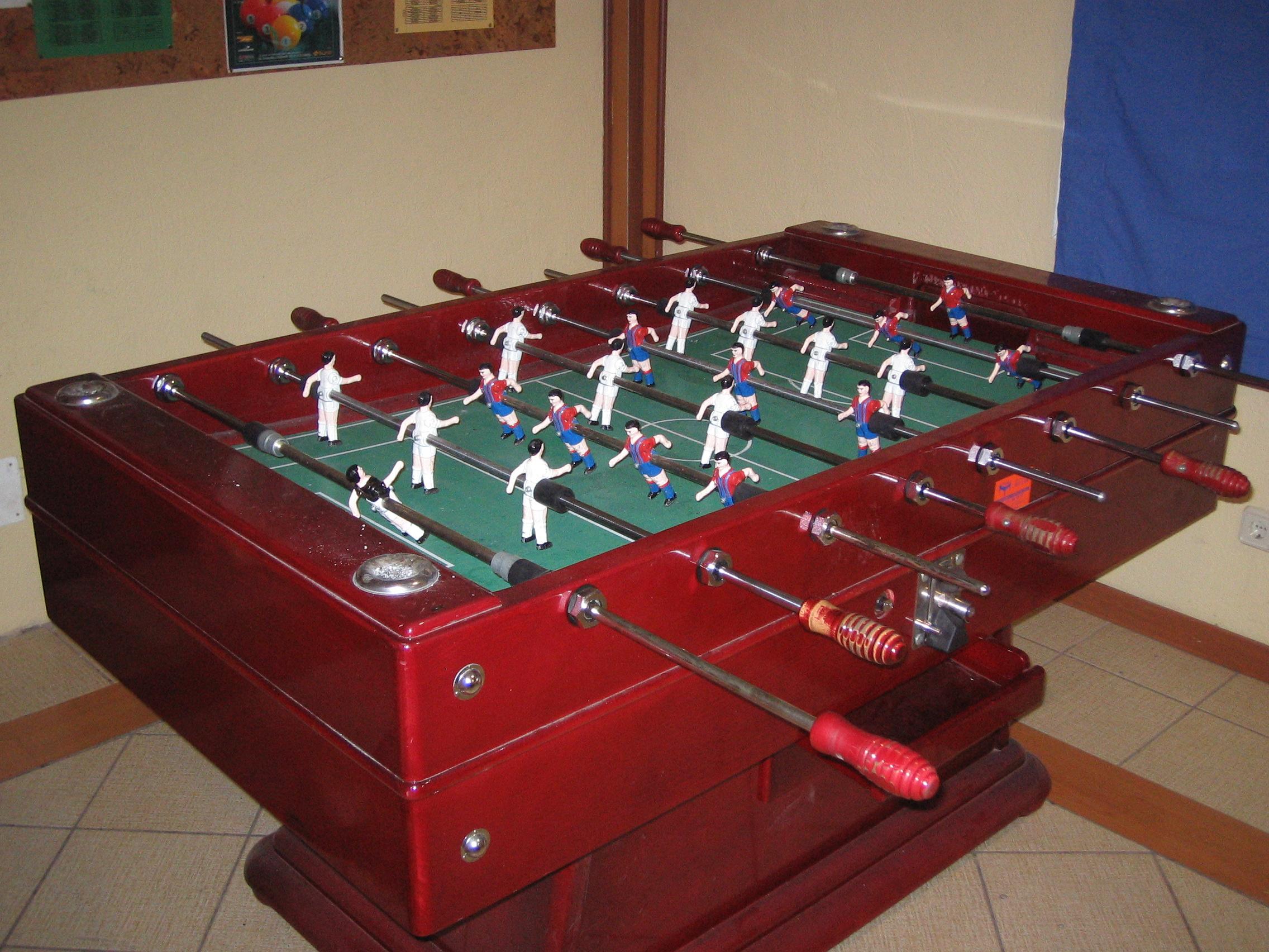 Catalan Foosball