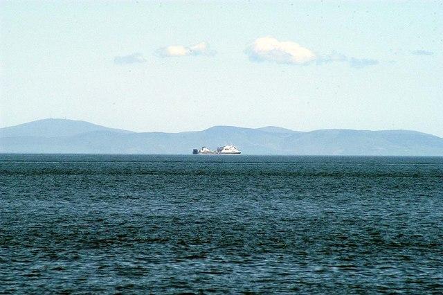 English: Lagan Viking Irish Sea The Lagan Viki...