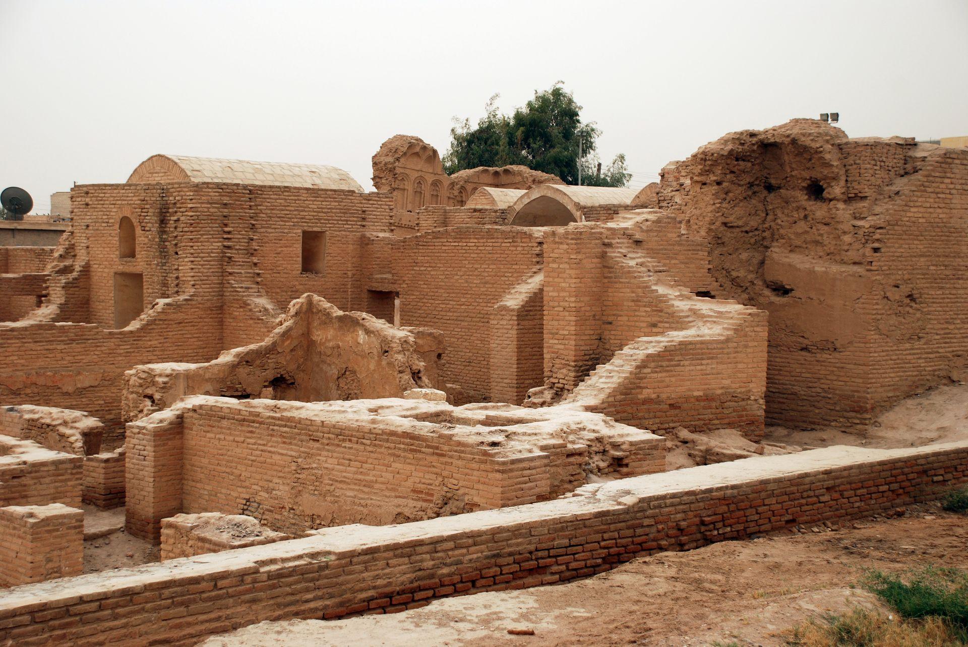 Ruins of Qasr al-Banat, Rakka, Syria