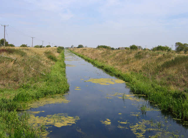 http://en.wikipedia.org/wiki/File:South_Forty_Foot_Drain_from_Neslam_Bridge,_Pointon,_Lincolnshire,_England..jpg