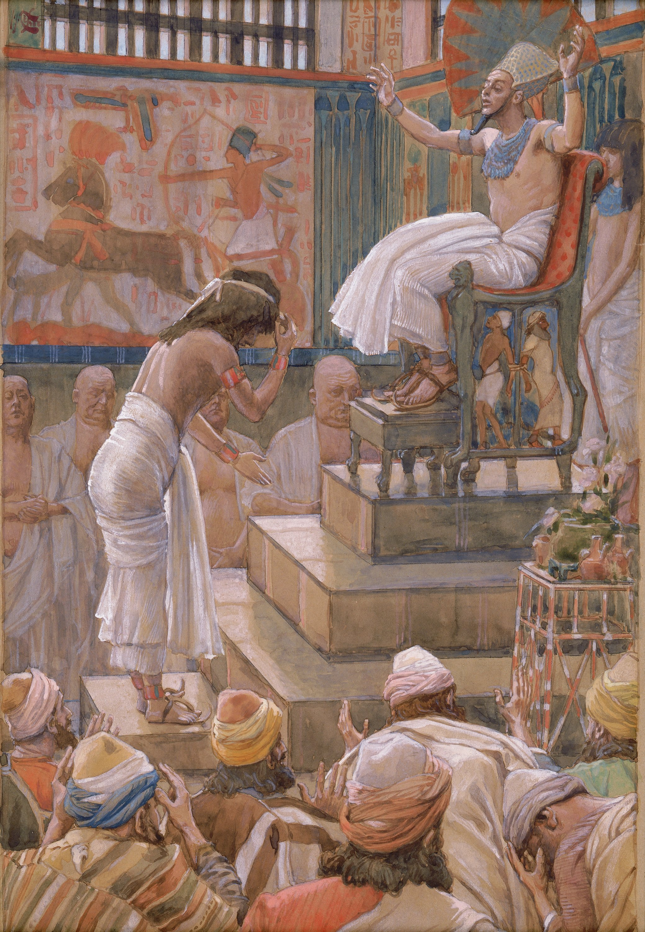 File Tissot Joseph And His Brethren Welcomed By Pharaoh