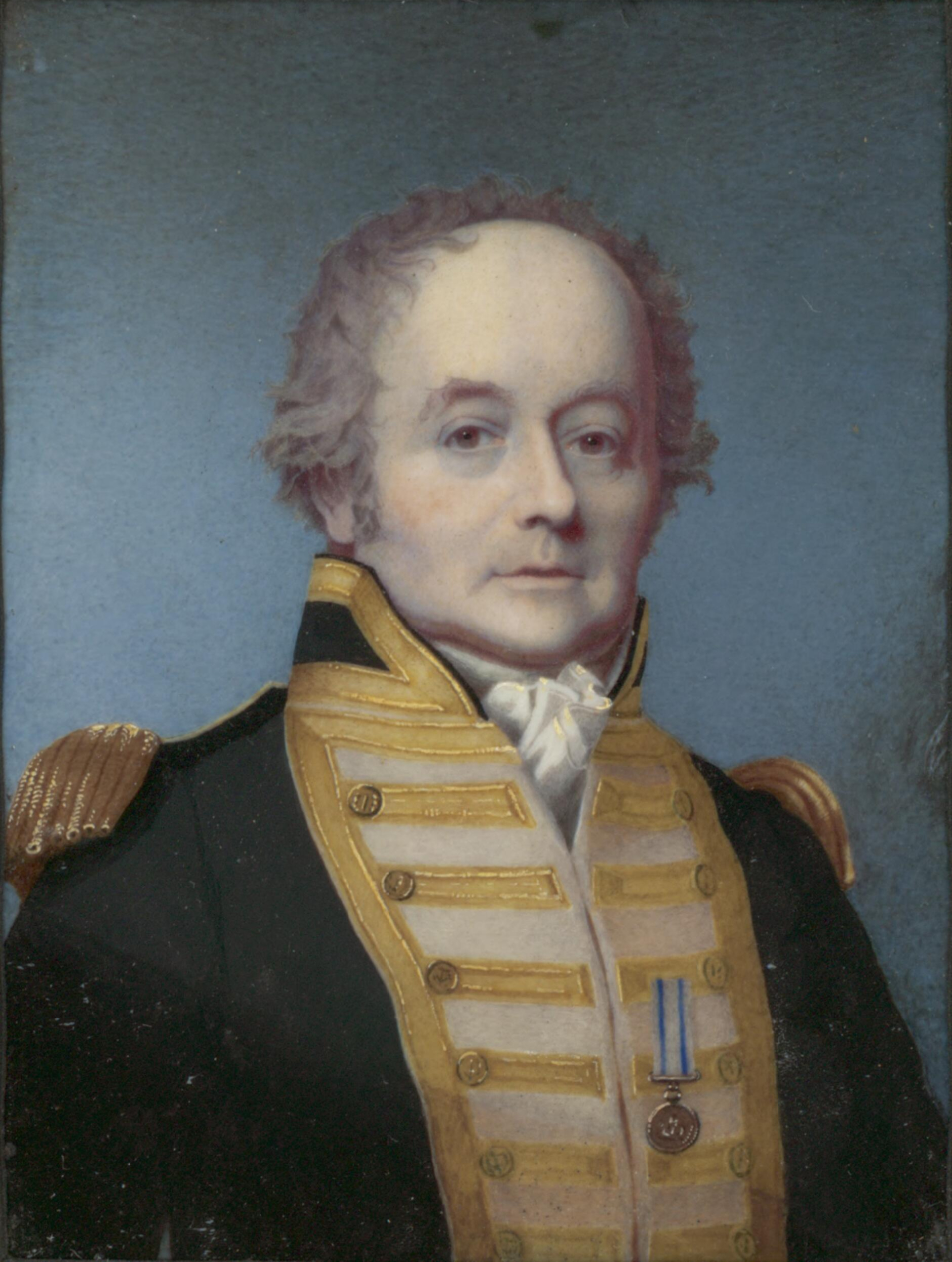 Portrait of Rear Admiral William Bligh by Alex...
