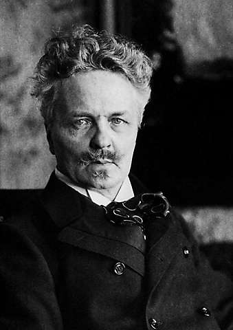 August Strindberg (vers 1900), HULTON-DEUTSCH COLLECTION/CORBIS/SCANPIX sur Wikimedia Commons