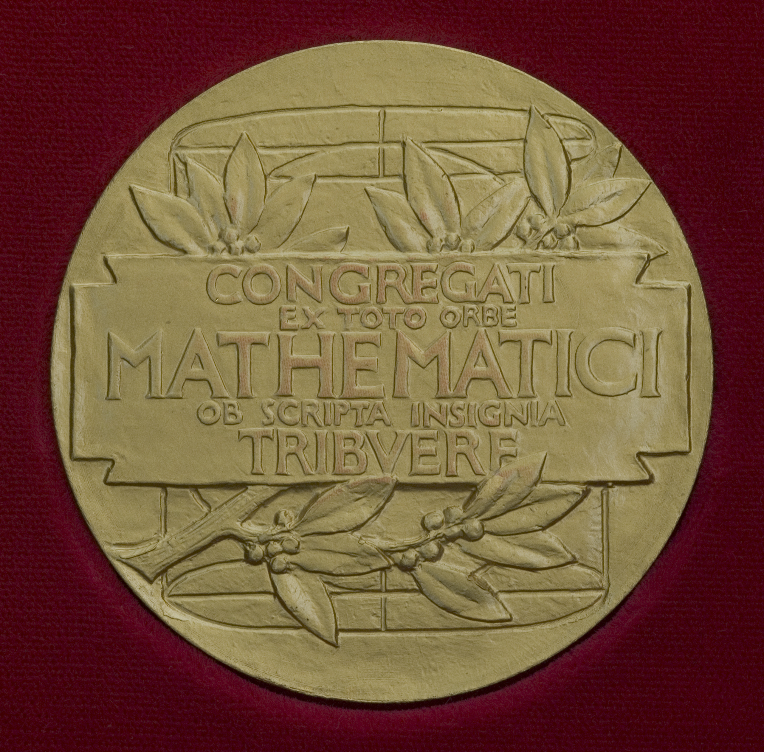 The photos of the Fields Medal (this is the on...
