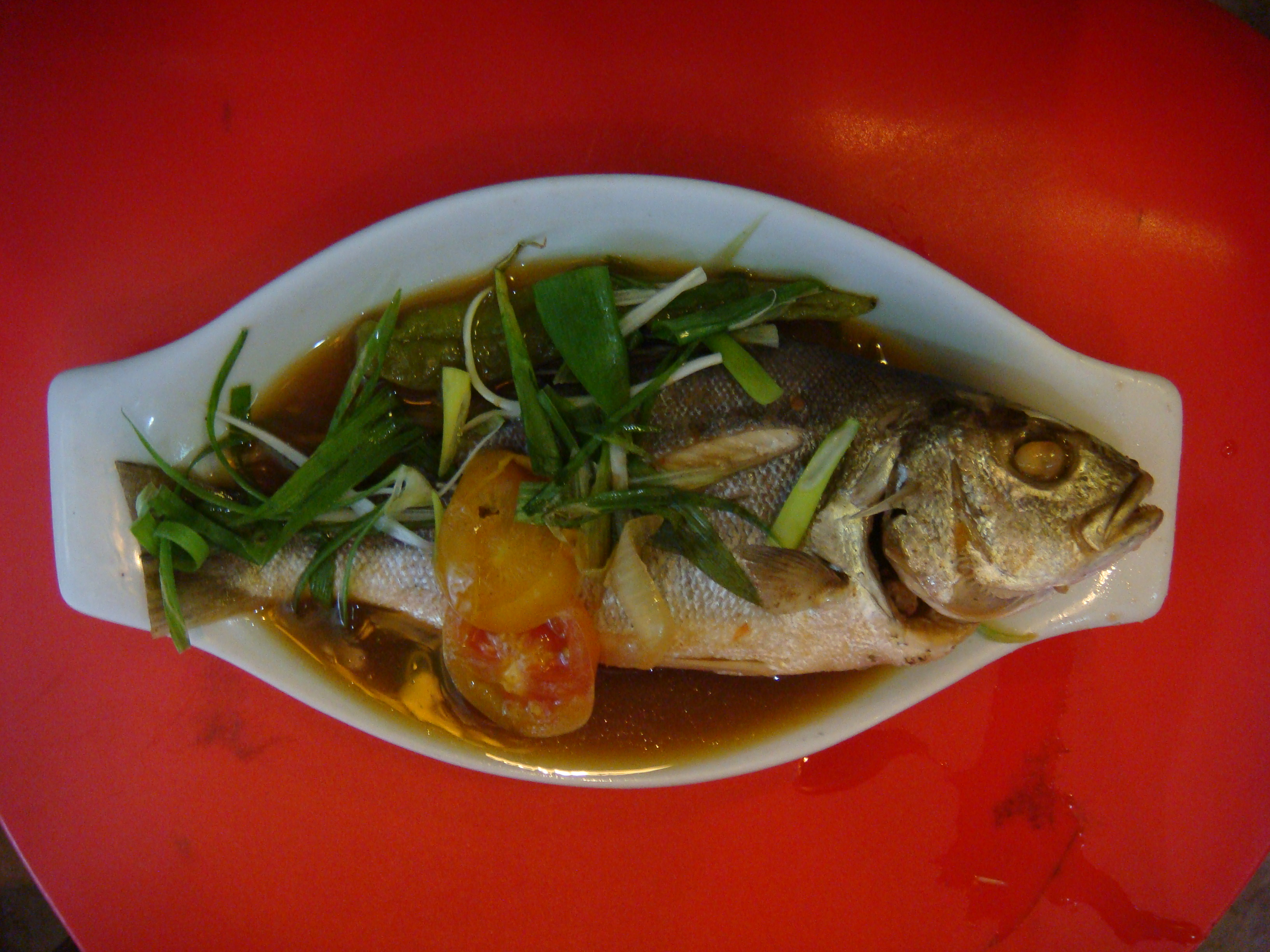 Chinese-style fish