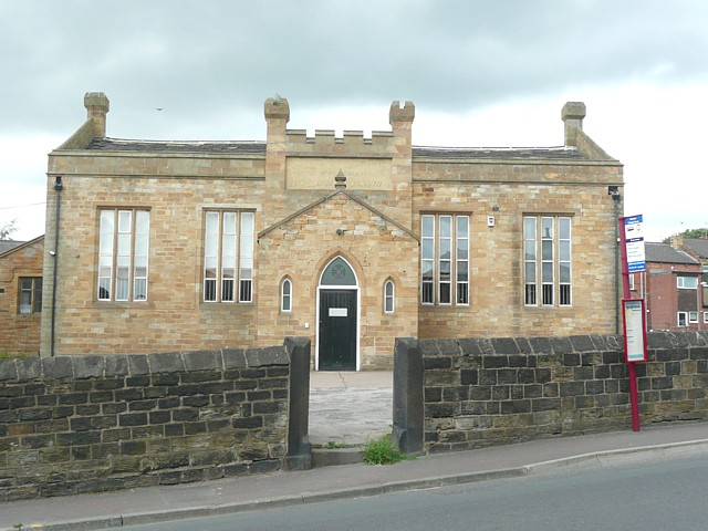 Former National School, Kirkgate, Birstall