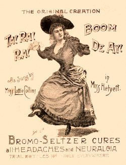 English: Bromo-Seltzer advertisement for heada...