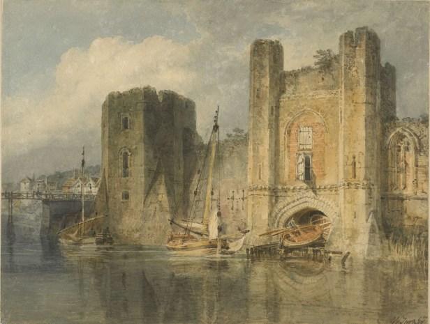 Newport Castle by JMW Turner
