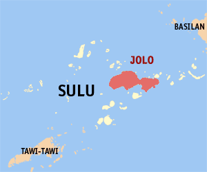 Locator map of Jolo Island in the Philippine p...