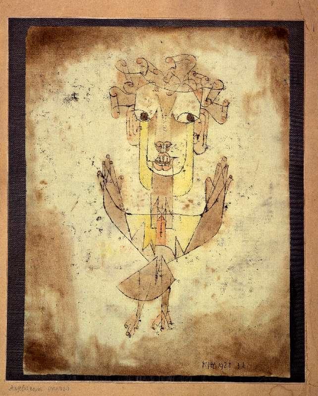 Angelus Novus, 1920