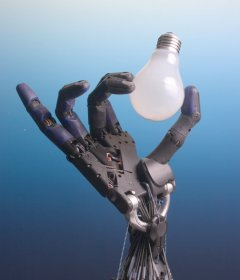 SHADOW HAND, by Richard Greenhill and Hugo Elias of the Shadow Robot Company