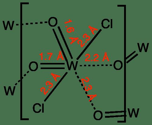 Tungsten Dichloride Dioxide Wikipedia