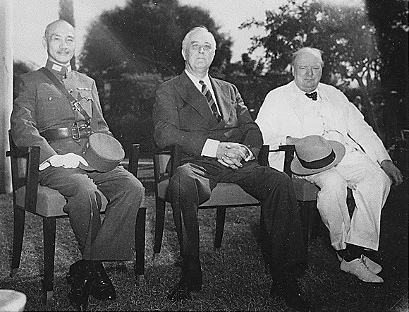 FDR at Cairo Conference