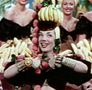 Cropped screenshot of Carmen Miranda from the ...