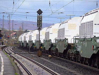 Castor-Transportbehälter des Typs TN 85
