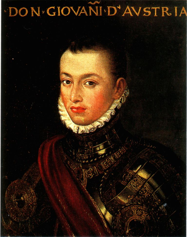 Portrait of Don John of Austria, from Wikipedia
