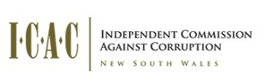 English: Logo of Independent Commission Agains...