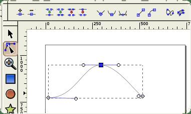 B-Spline dans InkScape [Source Wikipédia]