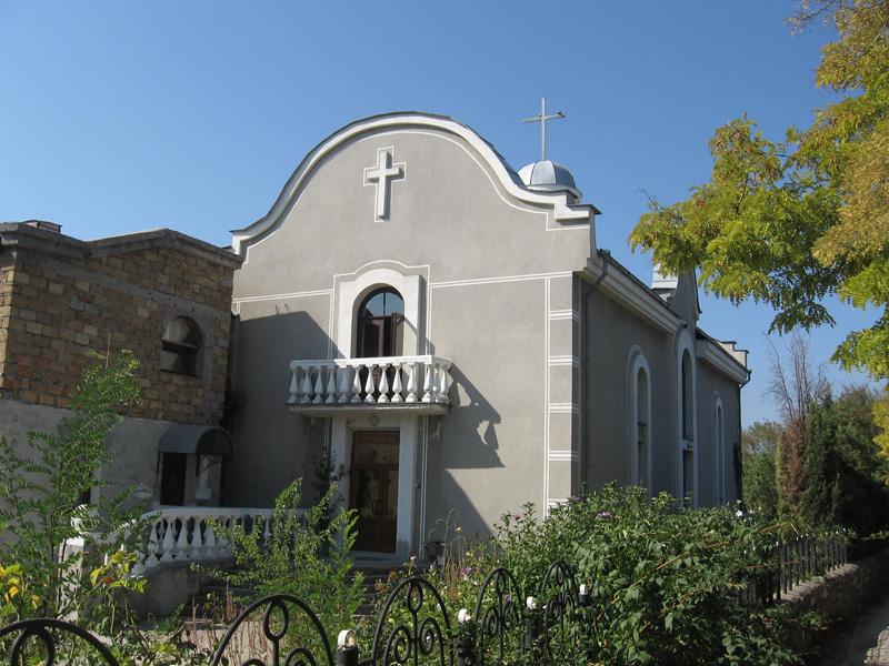Igreja Batista Ressurreição, em Sebastopol (UCR)