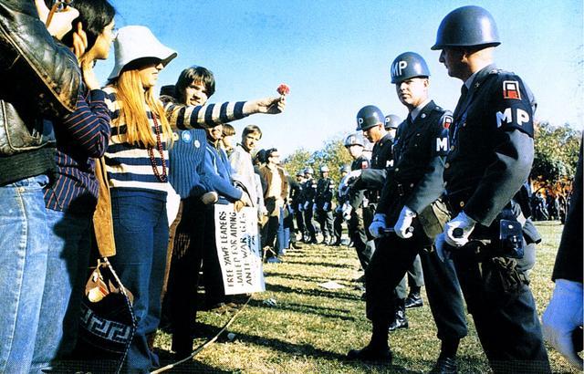 English: Photograph of a Female Demonstrator O...