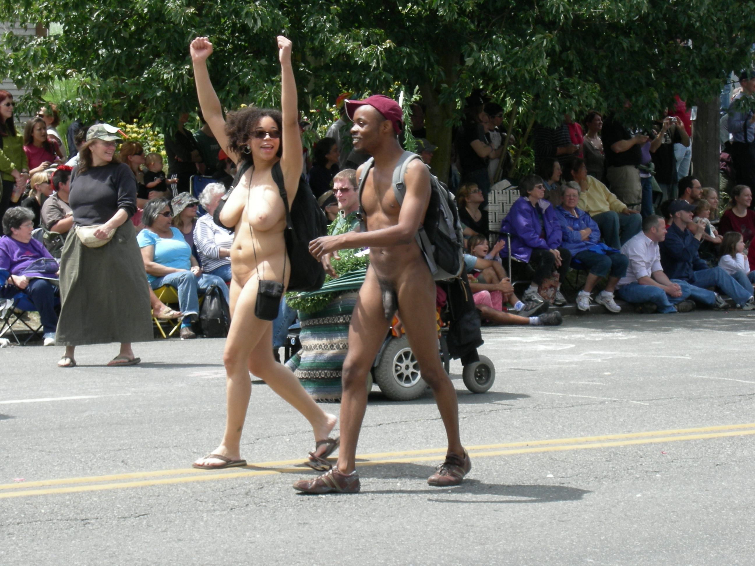 hot nude sex parade