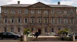 Leinster House, 18th century Dublin townhouse ...