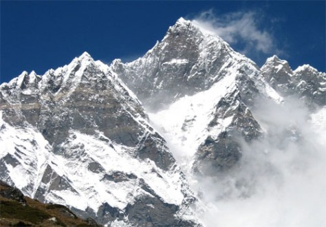 List of highest mountains on Earth   Wikipedia Lhotse  the third highest mountain of the Himalaya