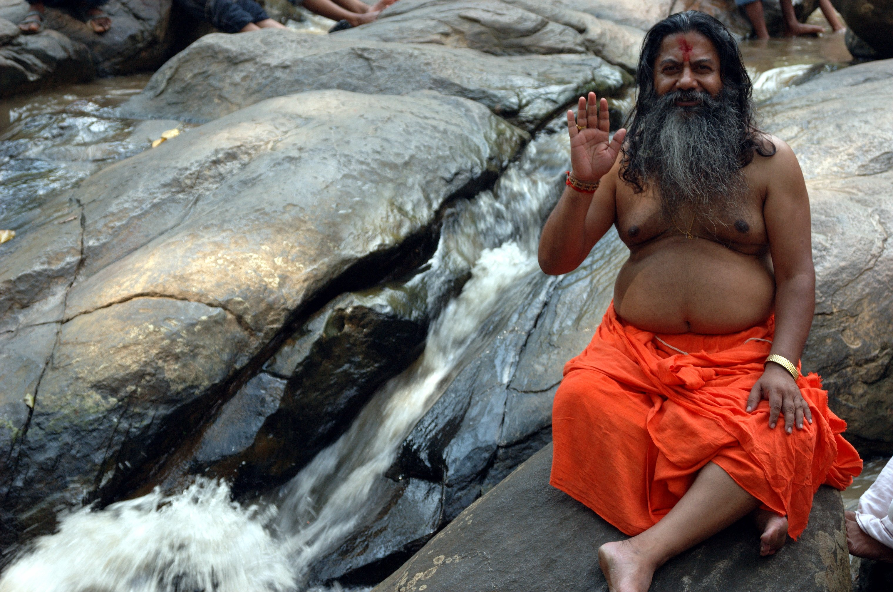 Indian naked philosopher