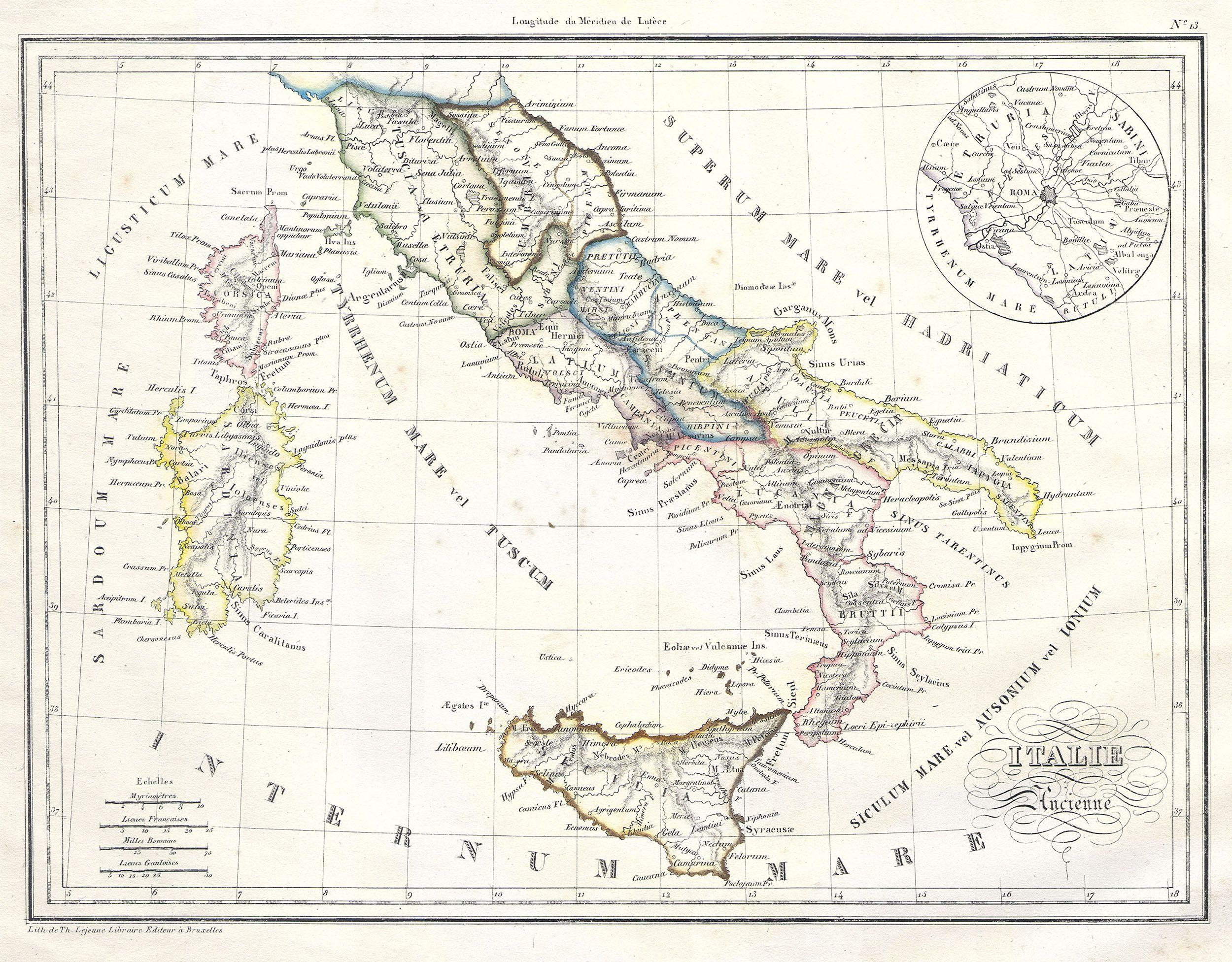 Blank Map Of Italy Worksheet