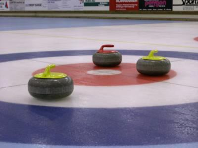 Curling, Stones, Granite, on the button, in the house,
