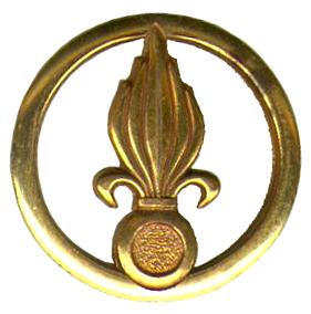 Insigne de béret de la Légion étrangère