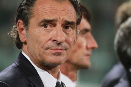 Italiano: L'allenatore italiano durante Italia...
