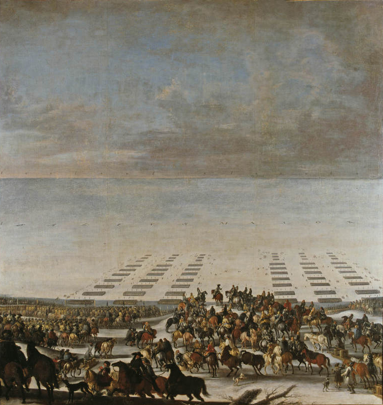 Swedish crossing of the Great Belt on 5 February