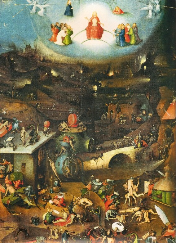 English: Painting by Hieronymous Bosch of Hell.