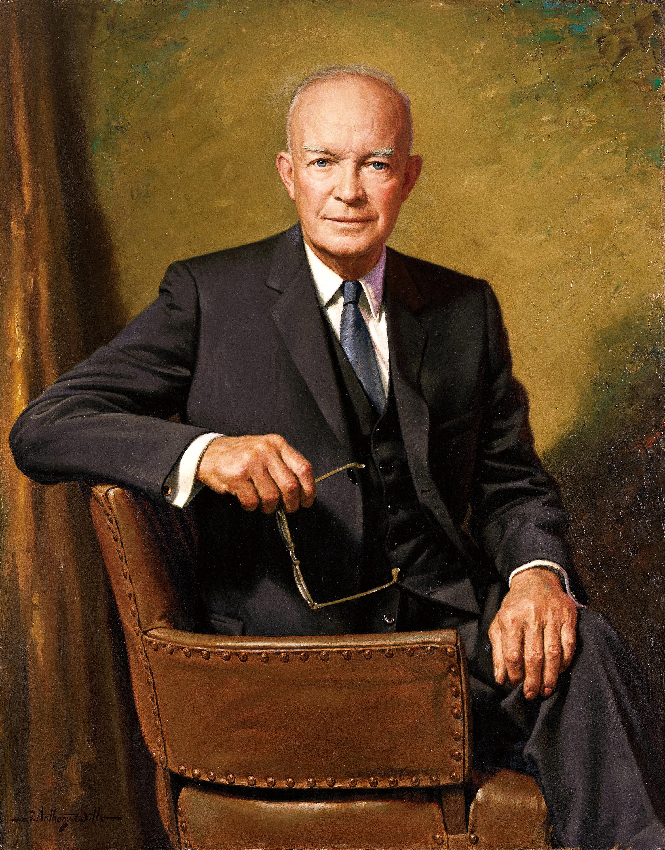 File Dwight D Eisenhower Official Presidential Portrait