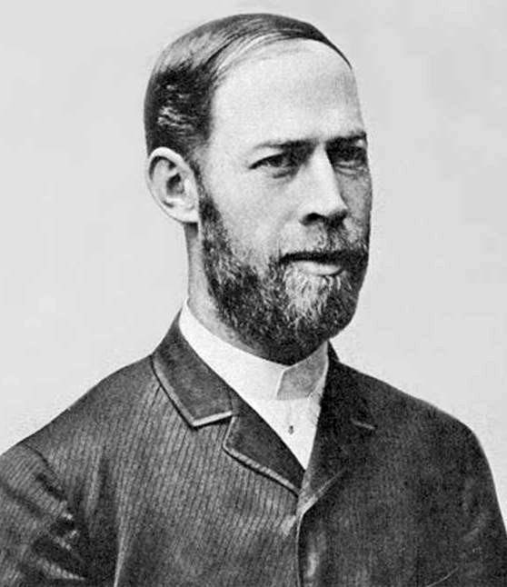 Image of Heinrich Rudolf Hertz, German physicist. Image Credit : Robert Krewaldt.