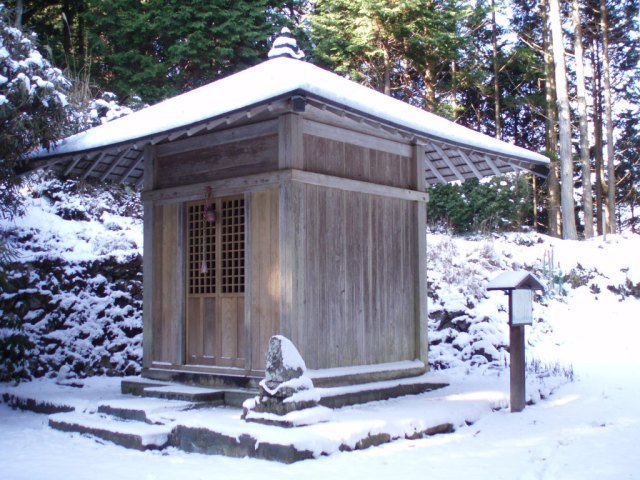 Kannon temple in Kumano Kodo, the pilgrimage route in Kumano