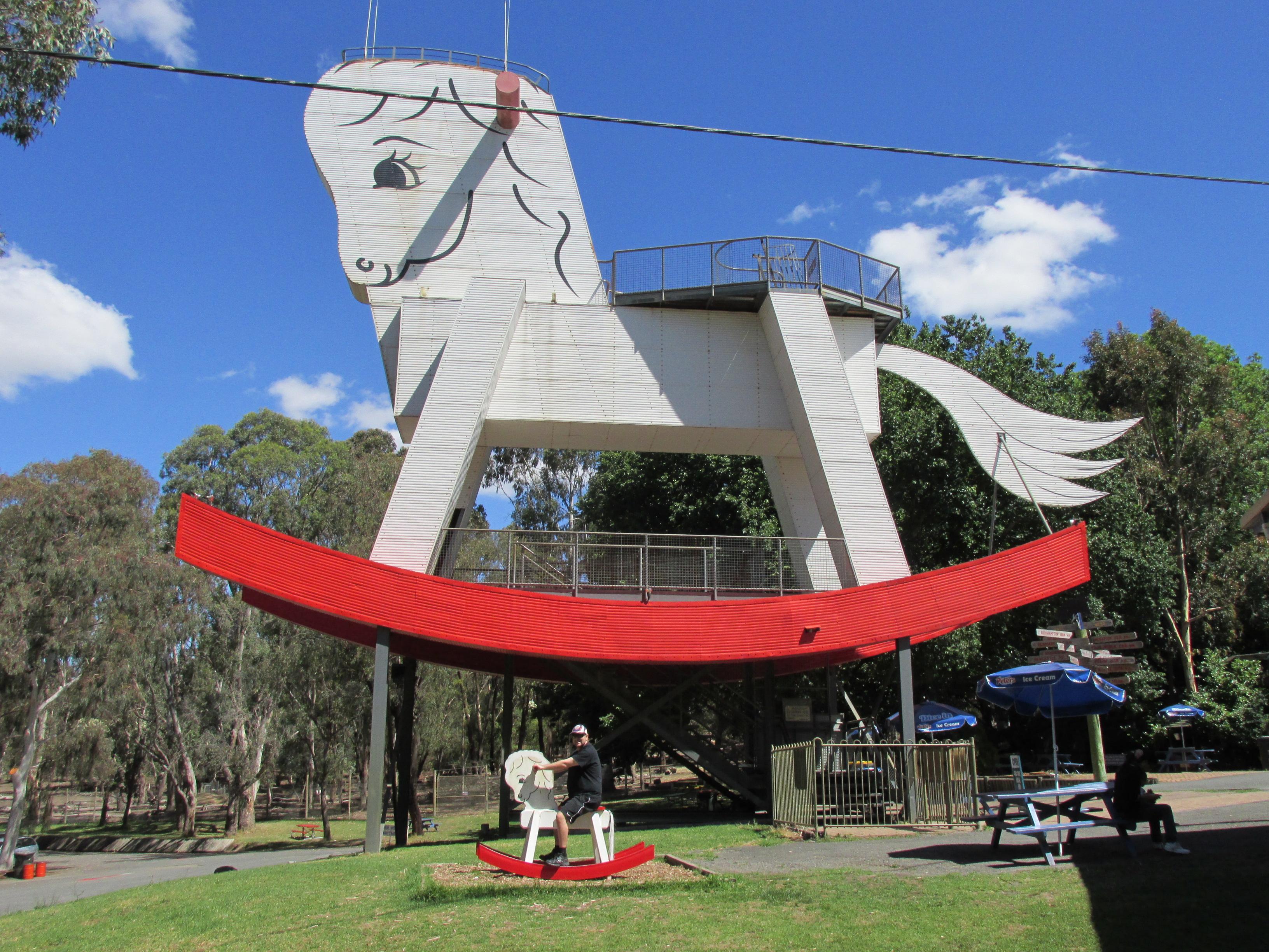Big Rocking Horse de Gumeracha