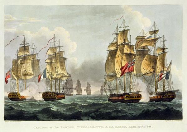 French Frigate Pomone 1787 Wikipedia
