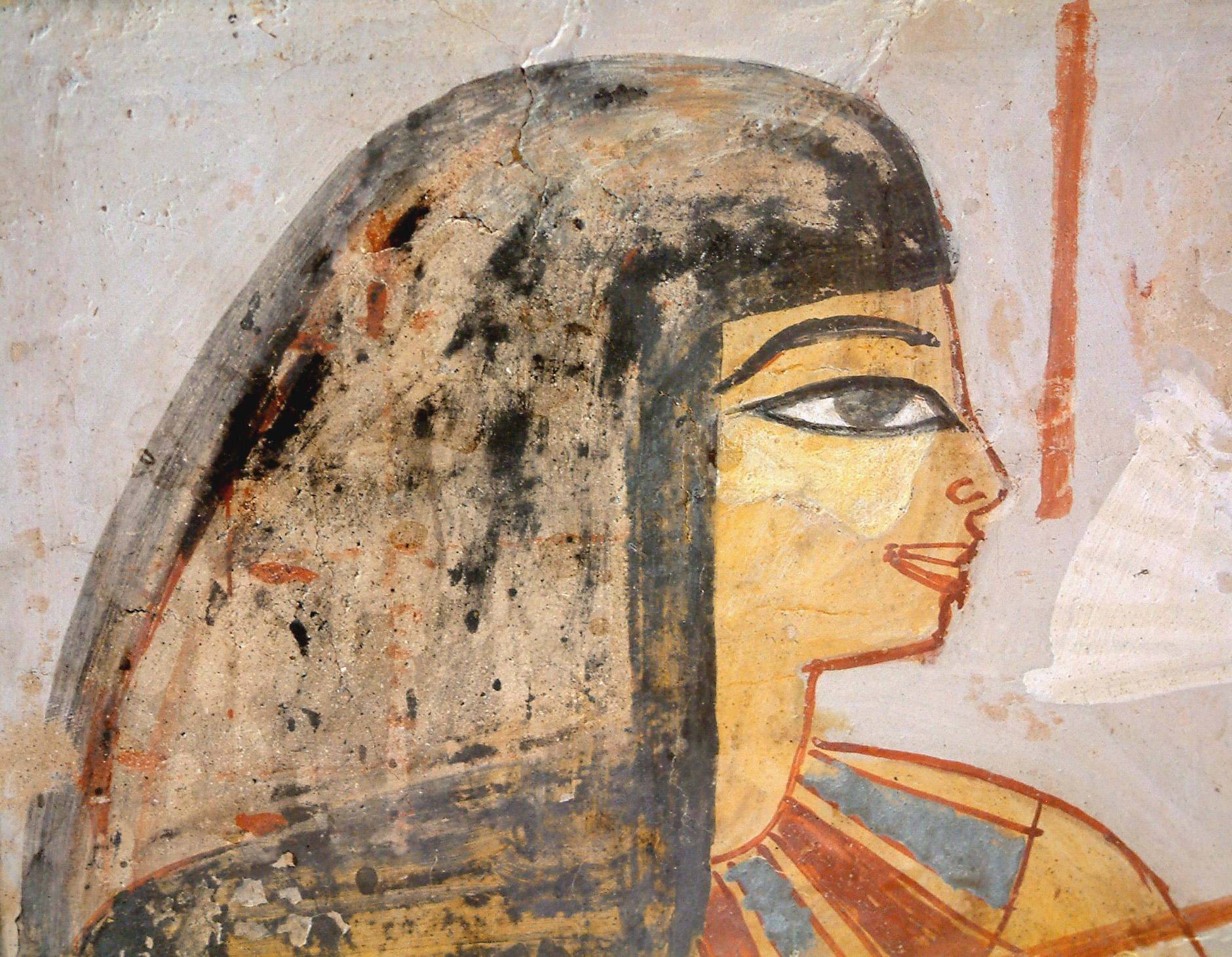 Egypte louvre 223 femme